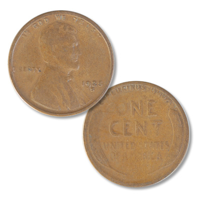 Image for 1925-S Lincoln Head Cent from Littleton Coin Company