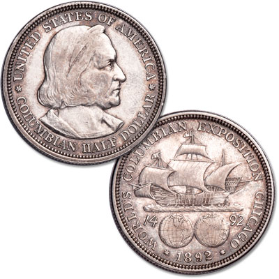 Image for Commemorative Silver - Half Dollar - 1892 XF from Littleton Coin Company