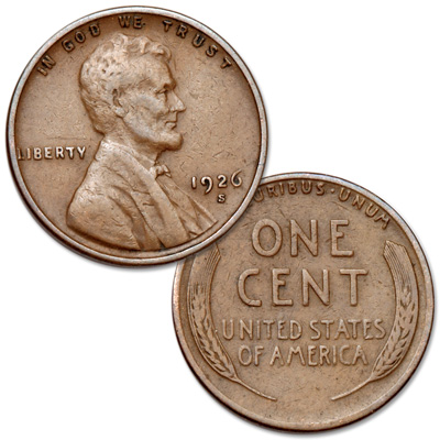 Image for 1926-S Lincoln Head Cent from Littleton Coin Company