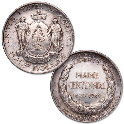 Image for 1920 Maine Centennial Silver Half Dollar from Littleton Coin Company