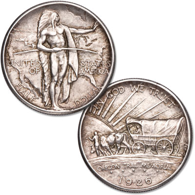 Image for 1926 Oregon Trail Commemorative Half Dollar from Littleton Coin Company