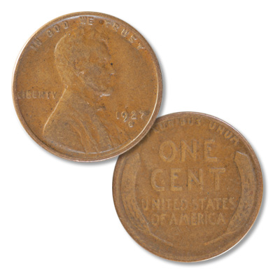 Image for 1927-S Lincoln Head Cent from Littleton Coin Company