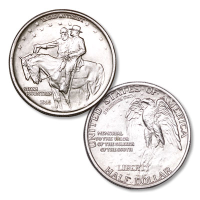 Image for 1925 Stone Mountain Silver Half Dollar Commemorative from Littleton Coin Company