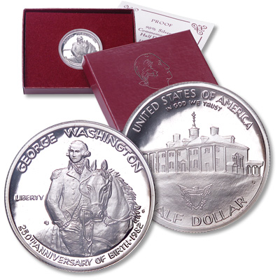 Image for 1982-S George Washington Commemorative, Choice Proof, PR63 from Littleton Coin Company