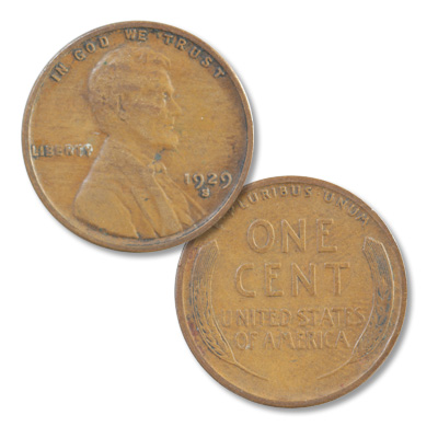 Image for 1929-S Lincoln Head Cent from Littleton Coin Company