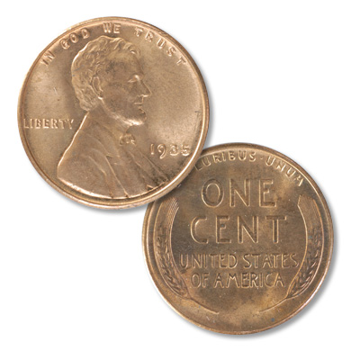 Image for 1935 Lincoln Head Cent from Littleton Coin Company