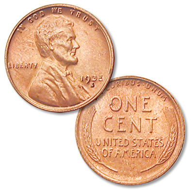 Image for 1935-S Lincoln Head Cent from Littleton Coin Company