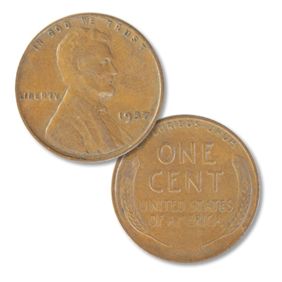 Image for 1937 Lincoln Head Cent from Littleton Coin Company
