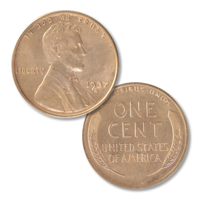 Image for 1937-S Lincoln Head Cent from Littleton Coin Company