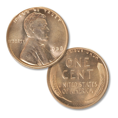 Image for 1938 Lincoln Head Cent from Littleton Coin Company