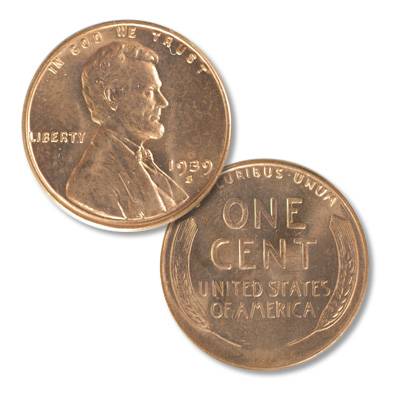 Image for 1939-S Lincoln Head Cent from Littleton Coin Company