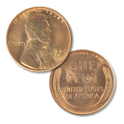 Image for 1940-S Lincoln Head Cent from Littleton Coin Company