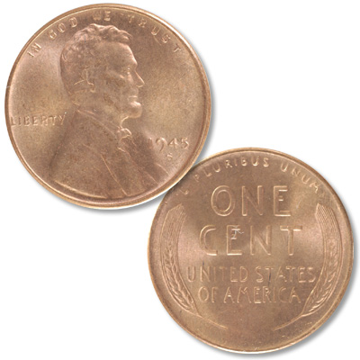 Image for 1945-S Lincoln Head Cent from Littleton Coin Company