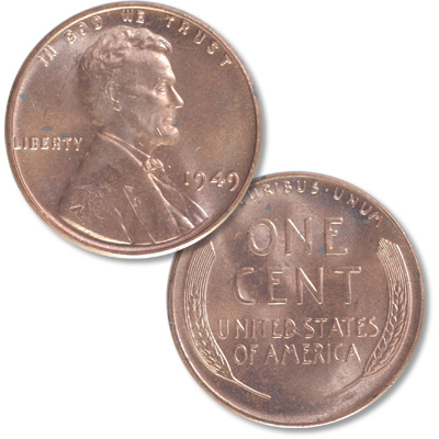 Image for 1949 Lincoln Head Cent from Littleton Coin Company