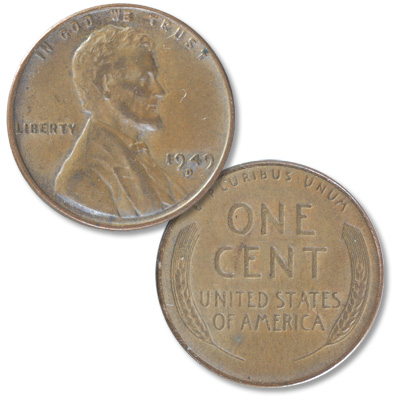 Image for 1949-D Lincoln Head Cent from Littleton Coin Company