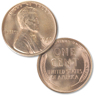 Image for 1949-S Lincoln Head Cent from Littleton Coin Company