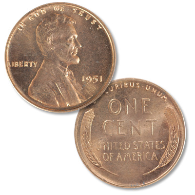 Image for 1951 Lincoln Head Cent from Littleton Coin Company