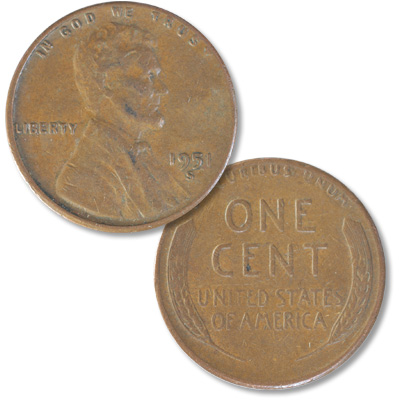 Image for 1951-S Lincoln Head Cent from Littleton Coin Company