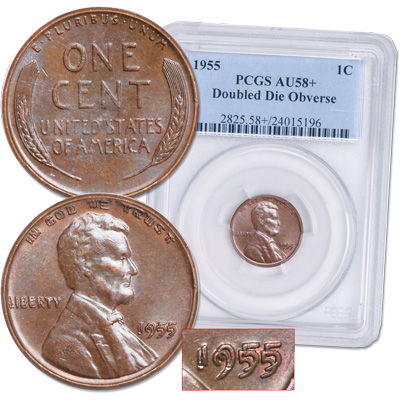 Image for 1955 Lincoln Cent from Littleton Coin Company