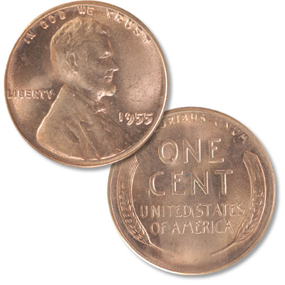 Image for 1955 Lincoln Head Cent from Littleton Coin Company
