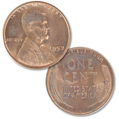 Image for 1957 Lincoln Head Cent from Littleton Coin Company