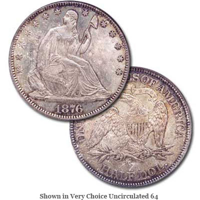 Image for 1876-CC Liberty Seated Half Dollar from Littleton Coin Company