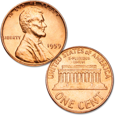 Image for 1959 Lincoln Head Cent from Littleton Coin Company
