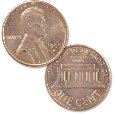 Image for 1959-D Lincoln Head Cent from Littleton Coin Company