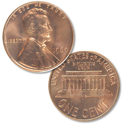 Image for 1960 Lincoln Head Cent Large Date from Littleton Coin Company