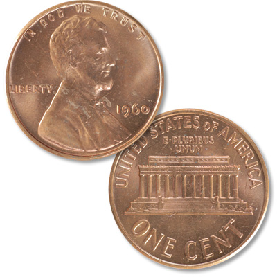 Image for 1960 Lincoln Head Cent Small Date, Uncirculated from Littleton Coin Company