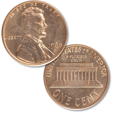 Image for 1960-D Lincoln Head Cent Large Date from Littleton Coin Company