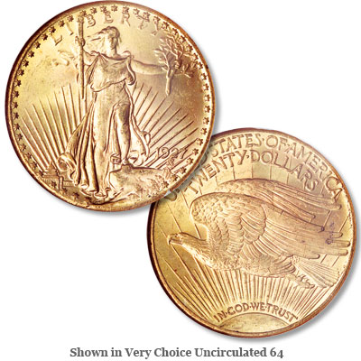 Image for 1927 Saint-Gaudens $20 Gold Double Eagle from Littleton Coin Company