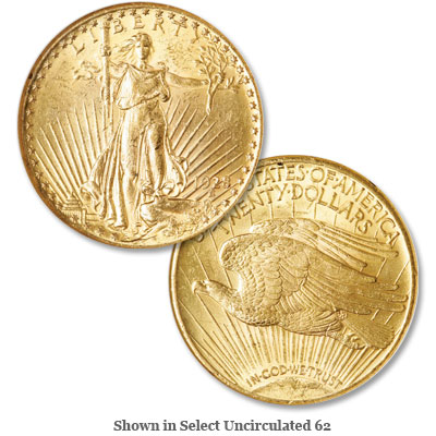 Image for 1928 Saint-Gaudens Gold $20 Double Eagle from Littleton Coin Company