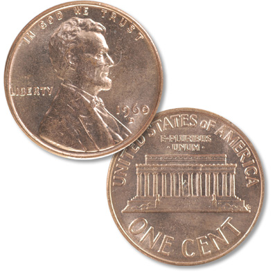 Image for 1960-D Lincoln Head Cent Small Date from Littleton Coin Company