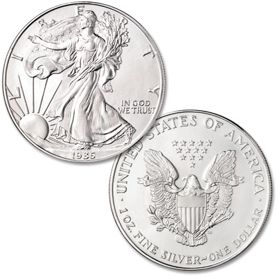 Image for 1986 $1 Silver American Eagle from Littleton Coin Company