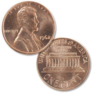 Image for 1962 Lincoln Head Cent from Littleton Coin Company