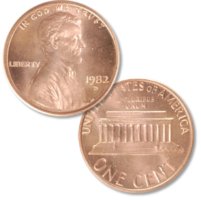 Image for 1982-D Lincoln Head Cent, Large Date, Zinc from Littleton Coin Company