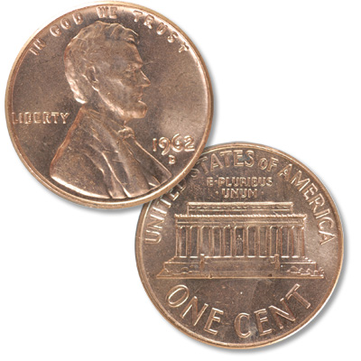 Image for 1962-D Lincoln Head Cent from Littleton Coin Company