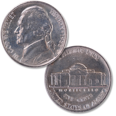 Image for 1988-P Jefferson Nickel from Littleton Coin Company
