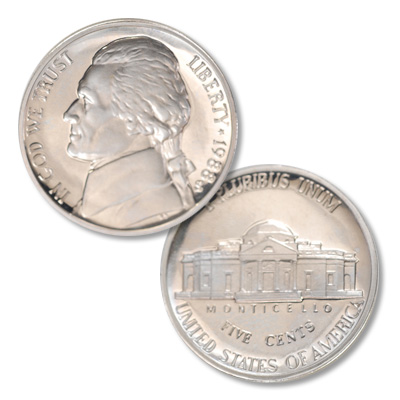 Image for 1988-S Jefferson Nickel Proof from Littleton Coin Company