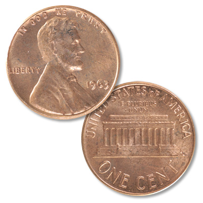 Image for 1963 Lincoln Head Cent from Littleton Coin Company
