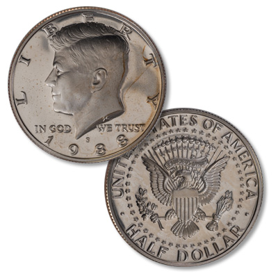 Image for 1988-S Kennedy Half Dollar from Littleton Coin Company