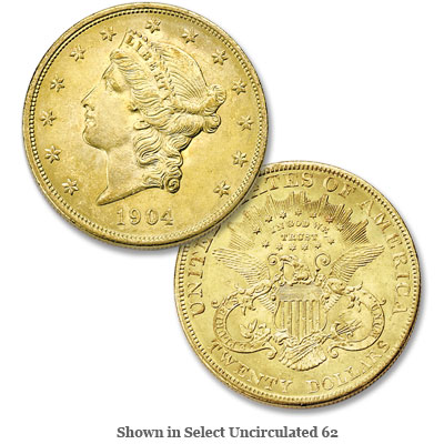 Image for 1904 Liberty Head $20 Gold Double Eagle from Littleton Coin Company