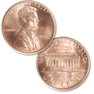 Image for 1989 Lincoln Head Cent from Littleton Coin Company