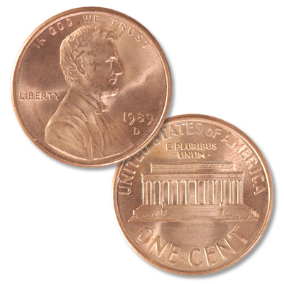 Image for 1989-D Lincoln Head Cent from Littleton Coin Company