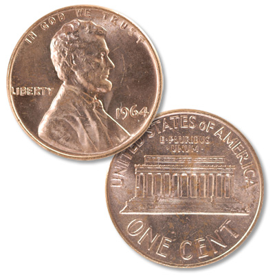 Image for 1964 Lincoln Head Cent from Littleton Coin Company