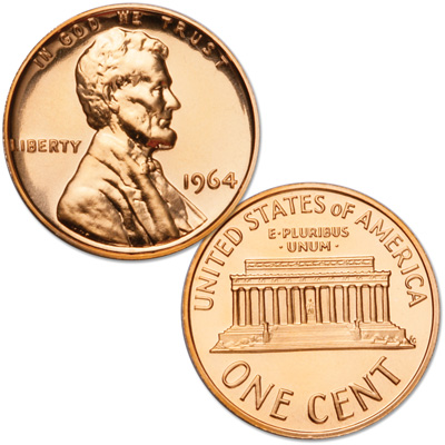 Image for 1964 Lincoln Head Cent, Proof from Littleton Coin Company