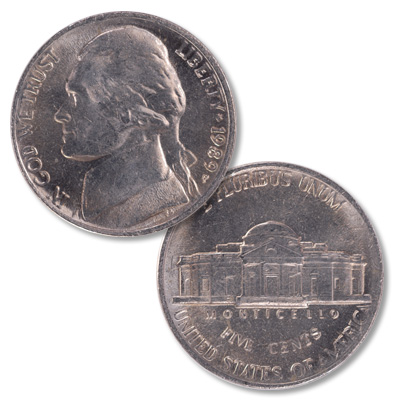 Image for 1989-P Jefferson Nickel from Littleton Coin Company