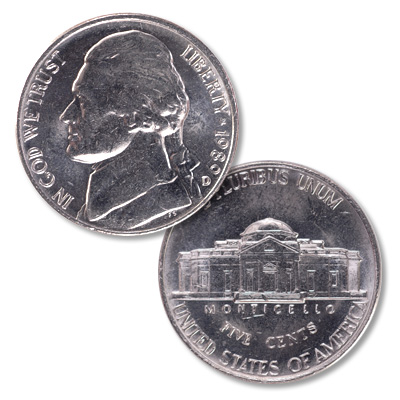 Image for 1989-D Jefferson Nickel from Littleton Coin Company