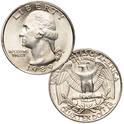 Image for 1989 Washington Quarter from Littleton Coin Company